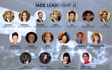 Öğrencimiz Deniz Yenidünya IADS Eğitim Komisyonu Başkanı Seçildi