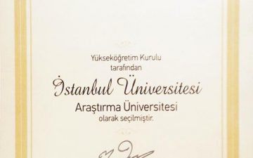 """İstanbul Üniversitesi """"Araştırma Üniversitesi"""" Oldu"""