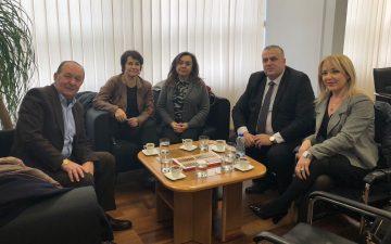 Fakültemiz Kosova Priştine Üniversitesi ile işbirliği ziyaretinde