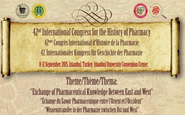 42. Uluslararası Eczacılık Tarihi Kongresi İstanbul'da düzenlendi.