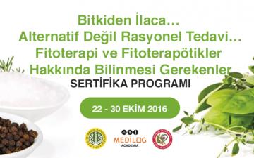 "Fitoterapi Eğitimi: ""Bitkiden İlaca… Alternatif Değil Rasyonel Tedavi… Fitoterapi ve Fitoterapötikler Hakkında Bilinmesi Gerekenler"""