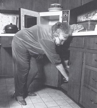 Mutfakta eğilme