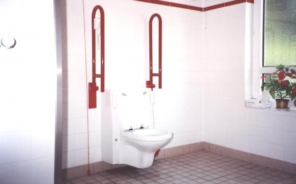 Querschlag özürlü tuvaleti