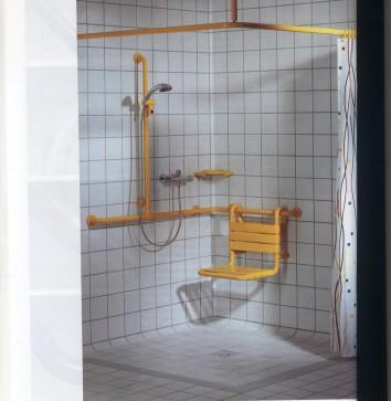 Sarı duş köşesi
