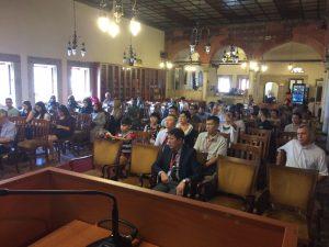 Farabi Avrasya Çalışmaları Merkezi Konferans Salonundan