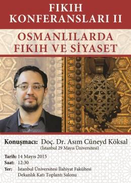 Osmanlilarda Fikih ve Siyaset