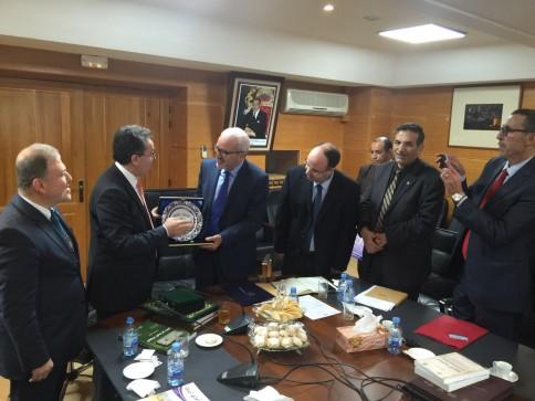 Fez, Sidi Muhammed bin Abdullah Üniversitesi Rektörü, Ömer Subhi, rektör yardımcıları,  edebiyat, insan ve toplum bilimleri ve Şeriat Fakültesi