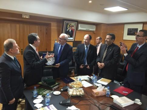 Fez, Sidi Muhammed bin Abdullah Üniversitesi Rektörü, Ömer Subhi, rektör yardımcıları,  Edebiyat, İnsan ve Toplum Bilimleri ve Şeriat Fakültesi