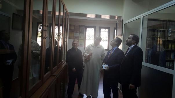 Er-Rabıtatü'l-Muhammediyye li'l-Ulema, Merkezü'd-dirasat ve'l-ebhas ve ihyai't-türas müdürü Abdellatif Jilani