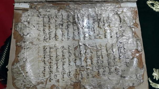 Karavin Üniversitesi El Yazmaları Kütüphanesi'nde İnceleme