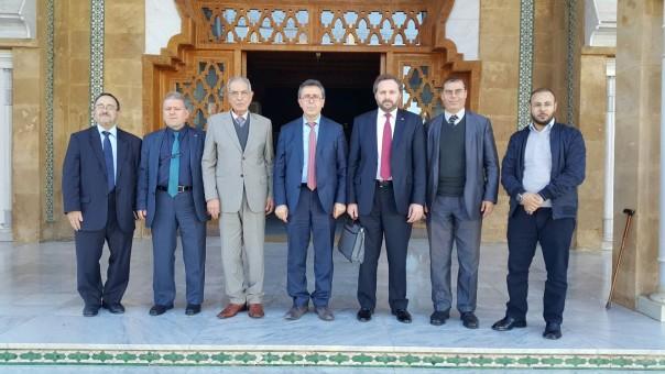 Karaviyyin Üniversitesi Darulhadis el-Haseni'nin Müdürü, Ahmed el-Hamlişi