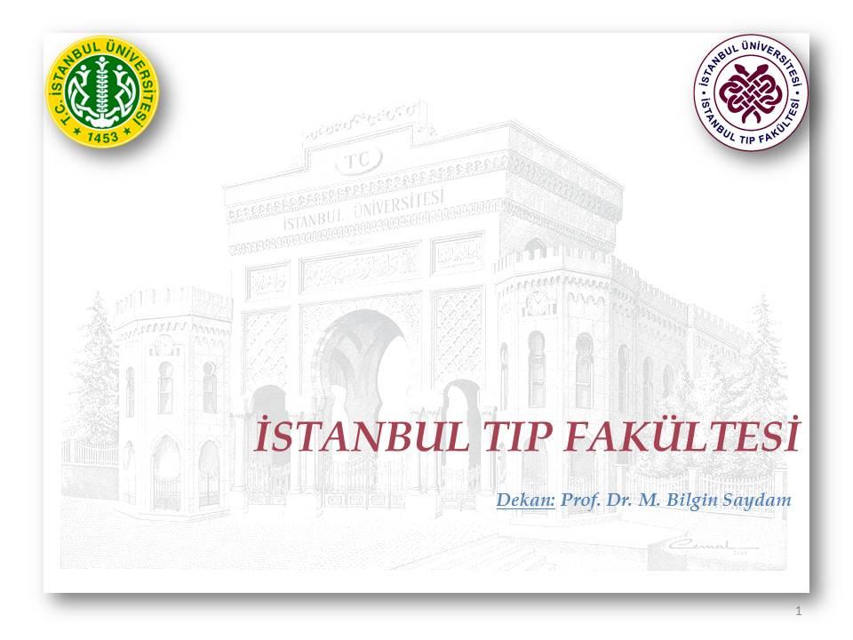 İTF Briefing  19 Mart 2014 Genel Akademik Kurul-26.04.2014