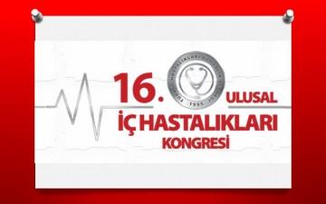 XVI.Ulusal İç Hastalıktan Kongresi