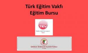 Türk Eğitim Vakfı Eğitim Bursu