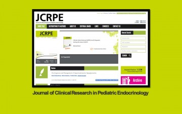 Journal of Clinical Research in Pediatric Endocrinology Dergisi