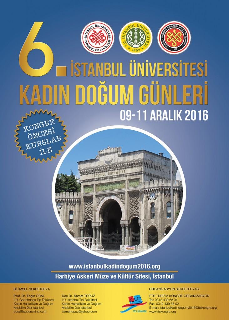 İstanbul Üniversitesi_Kadın Doğum Günleri_Afiş