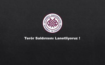 İstanbul Ortaköy'deki Terör Saldırısını Lanetliyoruz