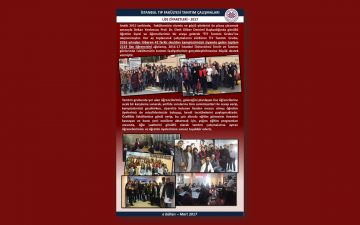 İstanbul Tıp Fakültesi tanıtım Çalışmaları Lise Ziyareteleri