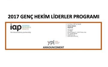 2017 Genç Hekim Liderler Programı