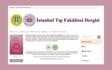 İstanbul Tıp Fakültesi Dergisinin 80. Cilt, 1. Sayısı yayımlanmıştır.