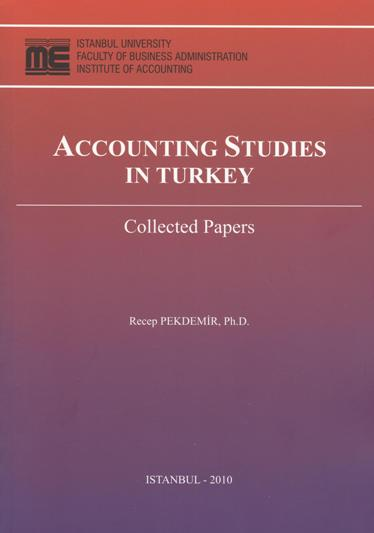 Prof.Dr.Recep PEKDEMİR -Accounting Studies In Turkey