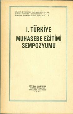 1. Türkiye Muhasebe Eğitim Sempozyumu, 1979