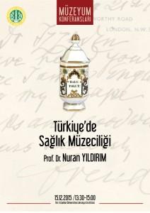 Türkiye'de  Sağlık Müzeciliği afiş2
