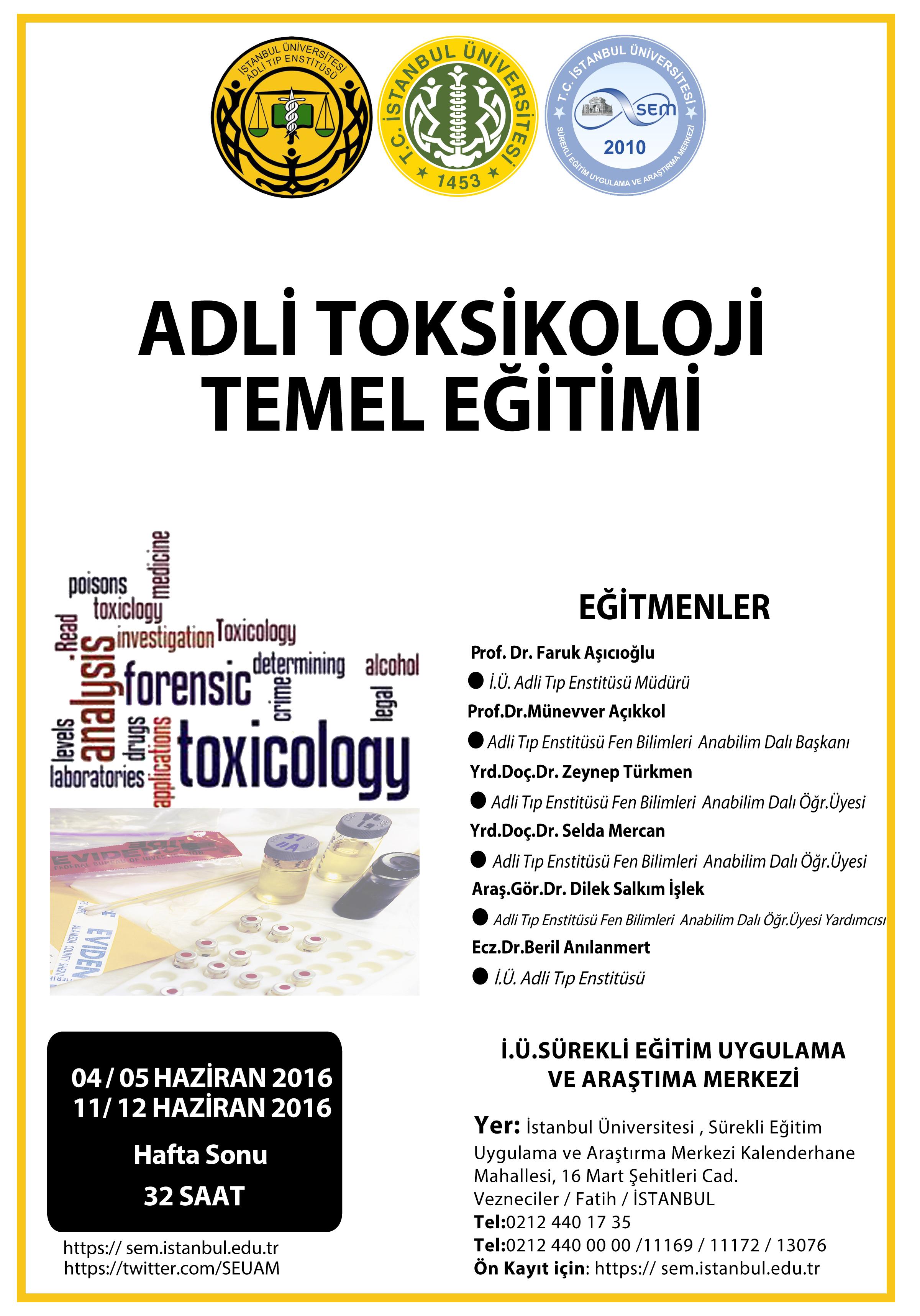 ADLİ Toksikoloji 2