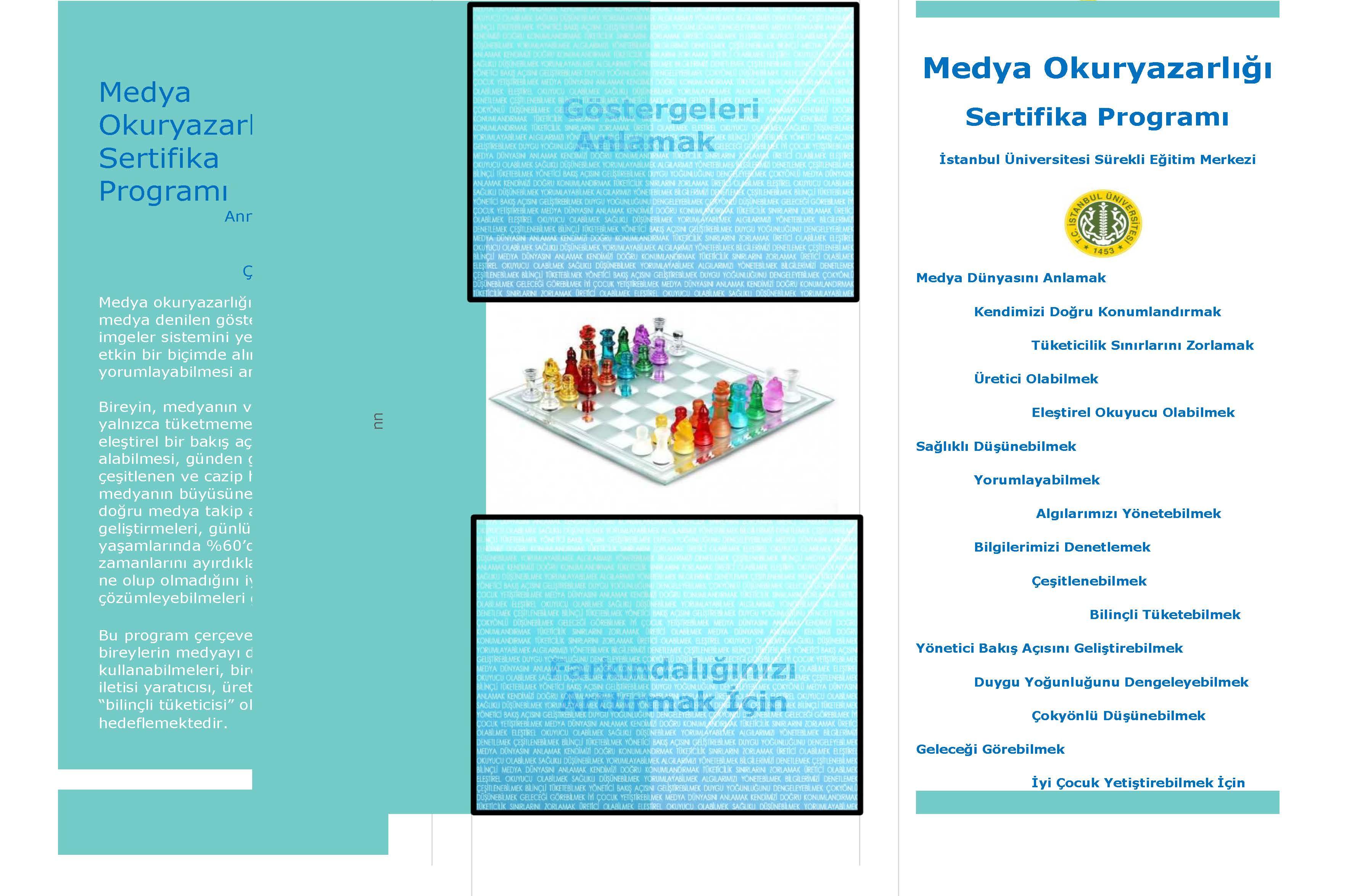 Medya Okuryazarlığı Sertifika Programı Broşür_Sayfa_1