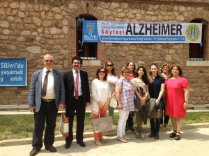 Doç.Dr.Suphi VEHİD,Psikolog İlkay SOYKAN,Prof.Dr.Ayşe Emel ÖNAL,THM Personeli ve CTF Asistanları
