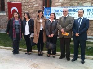 Prof.Dr.Ayşe Emel ÖNAL,      Dr.Dyt.Cemile İDİZ, Doç.Dr.Işıl BAVUNOĞLU, Doç.Dr.Suphi VEHİD, Dr.Mahir CENGİZ.