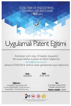 Uygulamali Patent Egitim